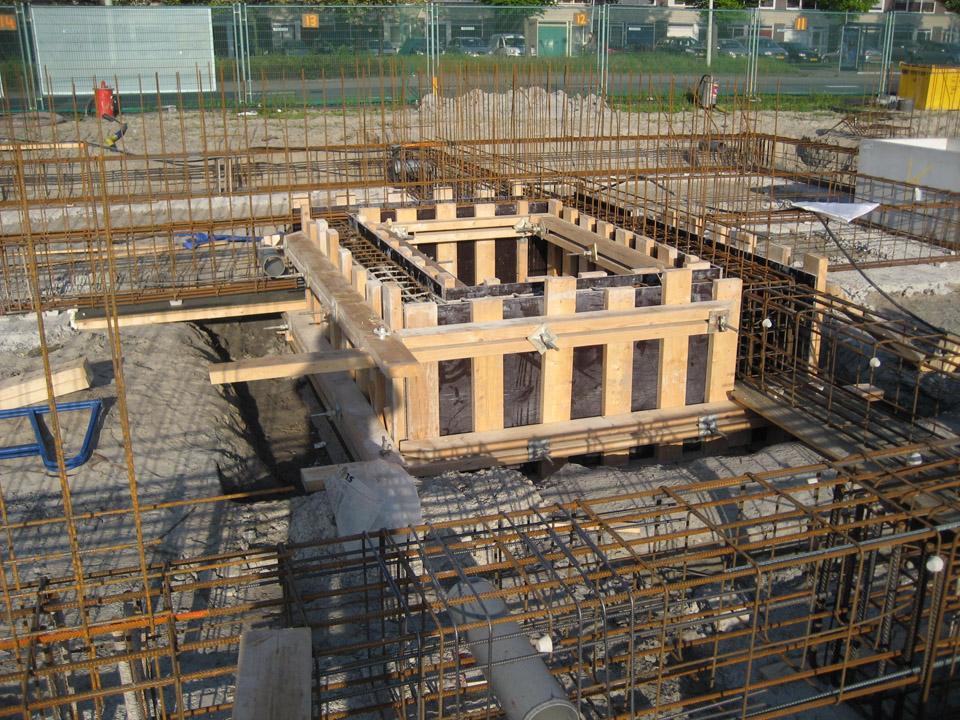 Murano onder constructie