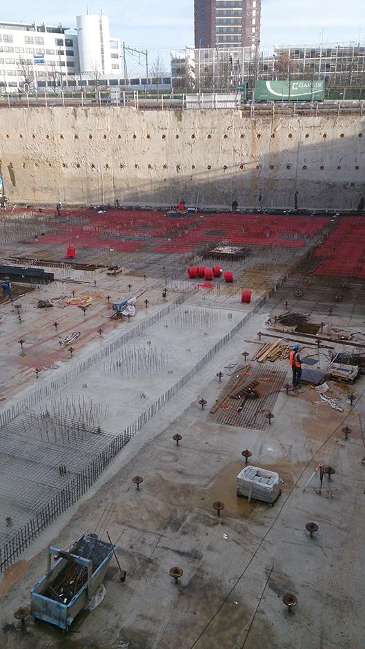 Stadskantoor onder constructie